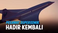 pesawat supersonic