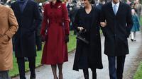 Meghan Markle dan Kate Middleton merayakan Natal bersama (Dok.Instagram/@kensingtonroyal/https://www.instagram.com/p/BrzvoeklAhP/Komarudin)