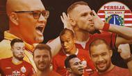 Piala Menpora -  Ilustrasi Perjalanan Persija Jakarta Ke Semifinal (Bola.com/Adreanus Titus)