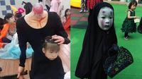 6 Kostum Halloween Anak-anak Ini Seram Sekaligus Lucu (sumber: Twitter.com/crazyinnasia)