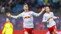 3. Timo Werner – Pemain yang digadangkan akan menjadi masa depan timnas Jerman kelak. Ketajamannya sudah sangat teruji di Bundesliga. (AFP/Robert Michael)