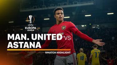 Berita video highlights Liga Europa 2019-2020 antara Manchester United melawan Astana yang berakhir dengan skor 1-0, Kamis (19/9/2019).