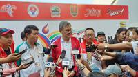 Chairman of Technical Committee of ASEAN Schools Sports Council (ASSC), Ong Kim Soon saat memberikan keterngan kepada wartawan di Semarang, Senin (22/7/2019).