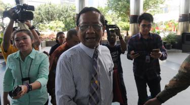 Datangi KPK Mahfud MD Diskusi Tentang Tindak Pidana Korupsi