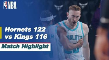 Berita video highlights NBA, Charlotte Hornets Kalahkan Sacramento Kings, 122-116
