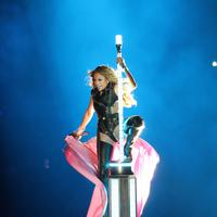 Jennifer Lopez di Super Bowl 2020 (SPLASH NEWS)