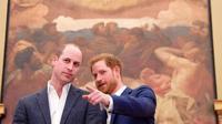 (Foto: © AFP via Kapan Lagi ) William dan Harry di acara opening Greenhouse Centre