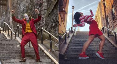 Jadi Wisata Dadakan, Ini 6 Tingkah Turis Saat Kunjungi Tangga 'Joker'
