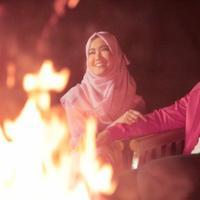 Berawal dari handphone, Ini awal kedekatan Tommy Kurniawan dan Lisya Nurrahmi.