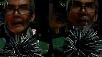 Bikin Salut, Sambil Tunggu Orderan Pengemudi Ojol Ini Sapu Paku di Jalanan. (@gojek24jam/ Instagram)