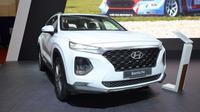 Hyundai Santa Fe dilengkapi head unit terbaru. (ist)
