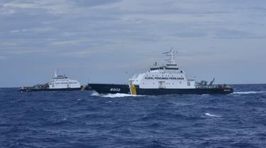 KKP menambah kapal pengawasan di Selat Sunda dan Natuna
