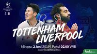 Liga Champions - Tottenham Hotspur Vs Liverpool Head to Head (Bola.com/Adreanus Titus)