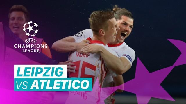 Berita video peluang-peluang dan 3 gol yang tercipta pada laga perempat final Liga Champions 2019/2020 antara RB Leipzig melawan Atletico Madrid yang digelar pada Jumat (14/8/2020) dinihari WIB.