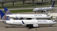 Ilustrasi pesawat United Airlines yang mengalami turbulensi. (AP)