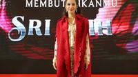 Pevita Pearce di event Vidio Experience yang digelar di Senayan City, Jakarta, Sabtu (21/9/2019). (Adrian Putra/Fimela.com)