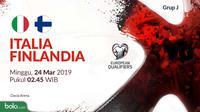 Kualifikasi Piala Eropa 2020 - Italia Vs Finlandia (Bola.com/Adreanus Titus)