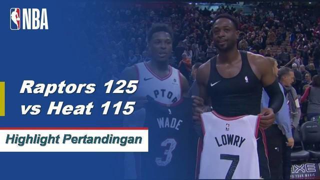 Kawhi Leonard dan Pascal Siakam menggabungkan 50 poin untuk mengangkat Raptors melewati Heat 125-115.