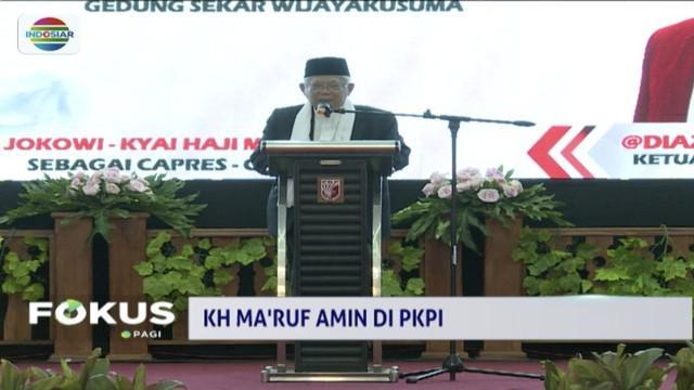 Hadiri perayaan 1 Muharram, Ma'ruf Amin beri amanat kepada ratusan pengurus PKPI.