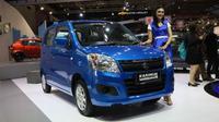 Suzuki Karimun Wagon R Minor Change hadir di IIMS 2017. (Herdi Muhardi)