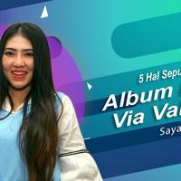 Berikut ini 5 hal seputar album terbaru Via Vallen yang bertajuk Sayang. (Foto: Nurwahyunan/Bintang.com, Desain: Nurman Abdul Hakim/Bintang.com)