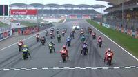 Balapan MotoGP masih bisa digelar di Palembang, Sumatera Selatan, pada 2018-2020 jika semua pihak yang berwenang memperlihatkan keseriusan kepada Dorna Sports. (motogp.com)