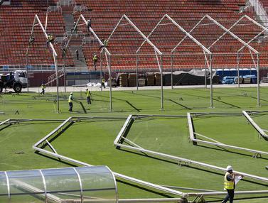Stadion di Brasil Dijadikan Rumah Sakit Darurat Virus Corona