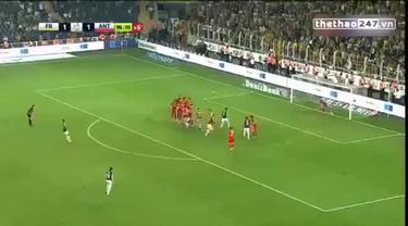Mantan pemain Manchester United, Luis Nani berhasil membawa kemenangan Fenerbahce  atas Antalyaspor lewat gol tendangan bebasnya di menit 90.