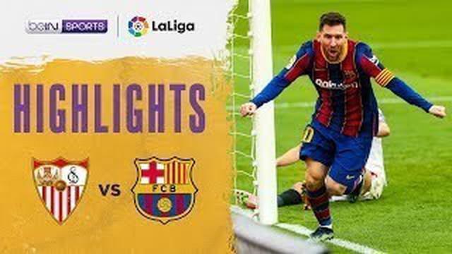 Berita video highlights Liga Spanyol 2020/2021 antara Sevilla melawan Barcelona yang berakhir dengan skor 0-2, Sabtu (27/2/2021) malam hari WIB.