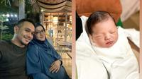 Potret Khaleed Al-Fatih Anak Lyra Virna dan Fadlan. (Sumber: Instagram.com/lyravirna dan Instagram.com/dillavers.ofc)