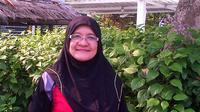 Aktivis sosial budaya Melayu dan psikologi anak dari Emotion Work Singapura, Siti Hamidah S Abdullah Bahashwan. (Liputan6.com/Ajang Nurdin)