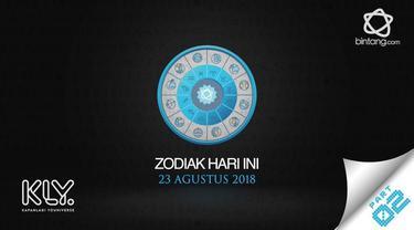 Video Zodiak Hari Ini: Simak Peruntungan Kamu di 23 Agustus 2018 Part 02