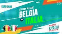 BELGIA VS  ITALIA (liputan6.com/Abdillah)