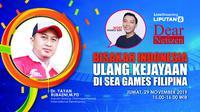 Dear Netizen: Bisakah Indonesia Ulang Kejayaan di SEA Games Filipina? (Liputan6.com/Abdillah)