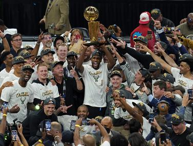 Milwaukee Bucks Sabet Juara NBA 2020-2021