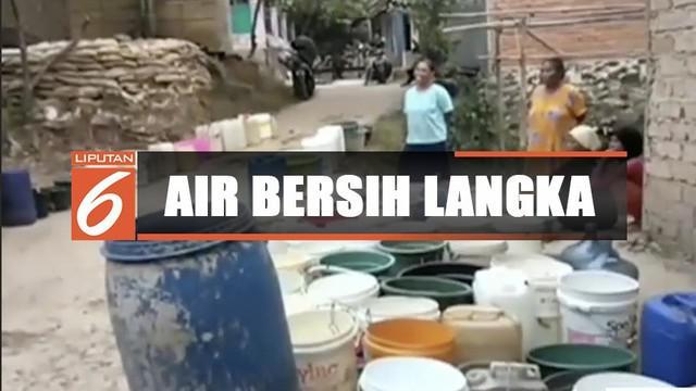 Kota Hujan Bogor sudah tiga bulan kekurangan air bersih akibat dari kemarau panjang.