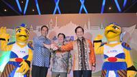 Jumpa Pers Indonesia Open, Senin (25/5/2015), (Herman Zakharia/ Liputan6.com)