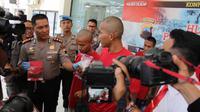 Polres Cilacap mengungkap sindikat narkoba Banyumas dan Cilacap. (Foto: Liputan6.com/Polres Cilacap/Muhamad Ridlo).