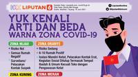 Infografis Yuk Kenali Arti Zona Hijau, Kuning, Oranye, Merah Covid-19 (Liputan6.com/Abdillah)