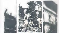 Dampak gempa di Aljazair pada 9 September 1954. (Ozzie News)