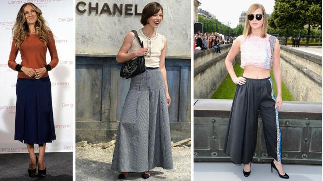 Tampil Edgy Dengan Padu Padan Celana Kulot Fashion Beauty