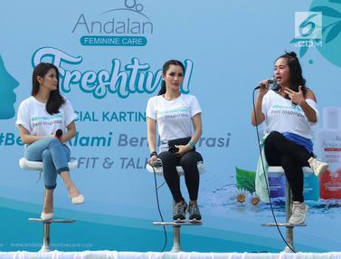 Serunya Diskusi Bersama Wanita Inspiratif dalam Andalan Freshtival Special Kartini Day