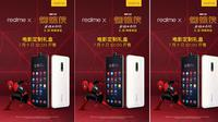 Tampang Realme X Spider Man yang dibanderol RP 3,7 jutaan di Tiongkok (Foto: Gizmochina)