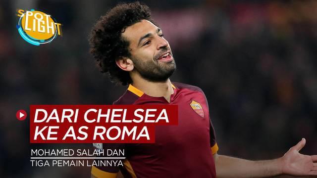 Berita video spotlight kali ini membahas tentang empat pemain yang di beli AS Roma dari Chelsea.