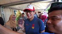 Calon Wakil Presiden Sandiaga Uno. (Liputan6.com/Ratu Annisa Suryasumirat)