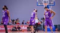 CLS Knights Indonesia menyerah 76-95 dari Singapore Slingers pada laga lanjutan ASEAN Basketball League 2018-2019 di OCBC Arena, Minggu (3/2/2019).