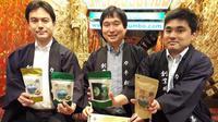 Kanematsu Secha meluncurkan produk baru di Indonesia berupa teh yang bersertifikasi halal dari MUI (Liputan6.com/Komarudin)