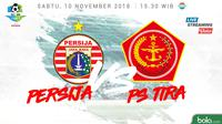 Liga 1 2018 Persija Jakarta Vs PS Tira (Bola.com/Adreanus Titus)