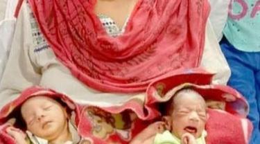 Lahir di Tengah Masa Karantina, Bayi Kembar Diberi Nama Corona dan Covid