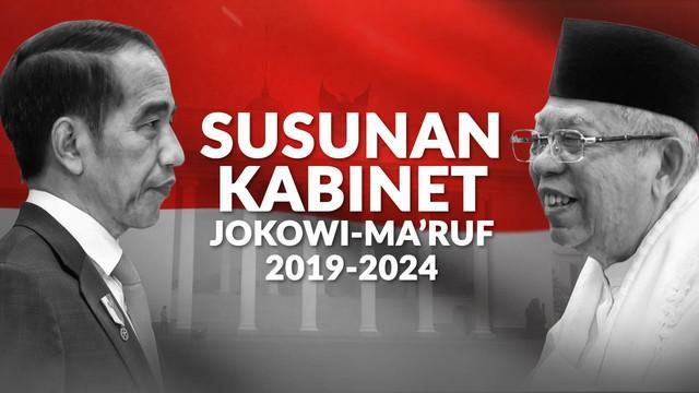 Presiden Jokowi resmi mengumumkan para menteri dan pembantunya yang lain dalam Kabinet Indonesia Maju. Para menteri ini diumumkan Jokowi di beranda depan Istana Merdeka, pukul 08.30 WIB, Rabu (23/10/2019).